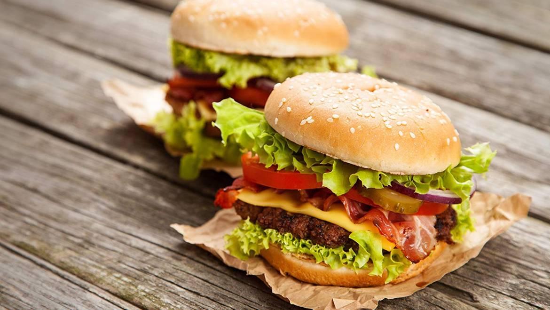 Hamburger/Veggie Burger